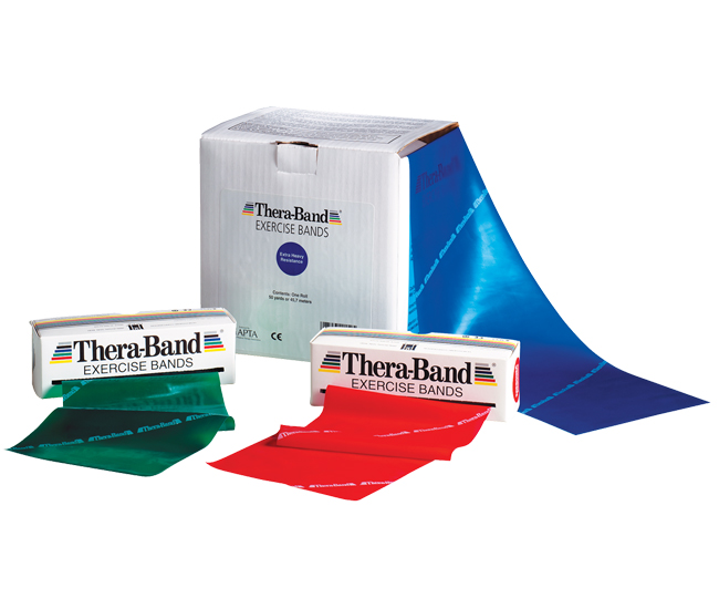 Exercise Bands With Handles Walmart: Thera-Band® Exercise Bands
